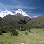 Au fond le Huascaran, 6768m